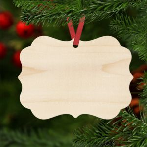 Natural Wood Benelux Christmas Ornament Thumbnail