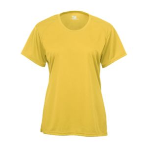 Badger Women's B Tech Performance Tee (94% Polyester, 6% Spandex) Thumbnail
