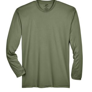Adult Cool & Dry Sport Long-Sleeve Performance Interlock T-Shirt Thumbnail