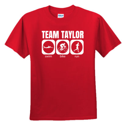 Male Triathlete SBR Team Tee Thumbnail