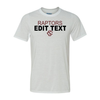 Custom Raptors High School Sports, Club or Ac Thumbnail