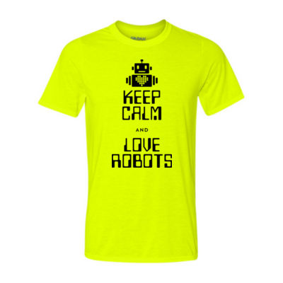 Keep Calm and Love Robots Thumbnail