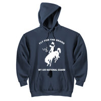 WY Air National Guard  - DryBlend™ Pullover Unisex Hooded Sweatshirt Thumbnail