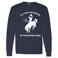 WY Air National Guard  - Heavy Cotton Long Sleeve T-Shirt Thumbnail