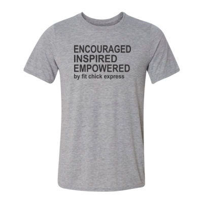 Encouraged, Inspired, Empowered - Light Youth/Adult Ultra Performance Active Lifestyle T Shirt Thumbnail