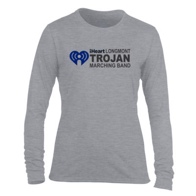 iHeartLongmont - Light Ladies Long Sleeve Ultra Performance Active Lifestyle T Shirt Thumbnail