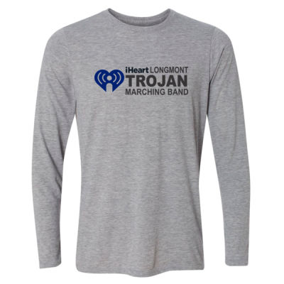 iHeartLongmont - Light Long Sleeve Ultra Performance Active Lifestyle T Shirt Thumbnail