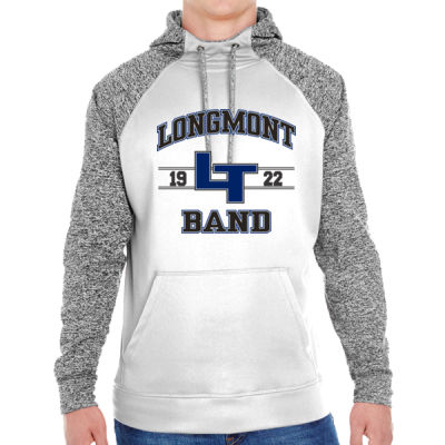 LHS Band - Adult Colorblock Cosmic Pullover Hood (S)  Thumbnail