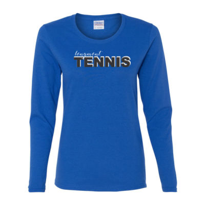 Longmont Tennis -  - Gildan Ladies Ultra Cotton™ Long Sleeve Missy Fit T Shirt Thumbnail