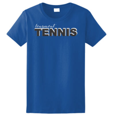 Longmont Tennis -  - Ladies Ultra Cotton™ 100% Cotton T Shirt Thumbnail