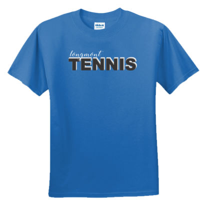 Longmont Tennis -  - Unisex or Youth Ultra Cotton™ 100% Cotton T Shirt Thumbnail