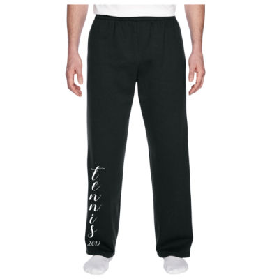 Longmont Tennis -  - Adult 7.2 oz. SofSpun® Open-Bottom Pocket Sweatpants Thumbnail