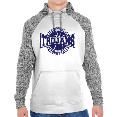 LHS Basketball - Adult Colorblock Cosmic Pullover Hood (S)  Thumbnail
