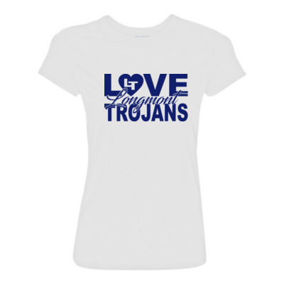 Love LHS - Light Ladies Ultra Performance Active Lifestyle T Shirt Thumbnail