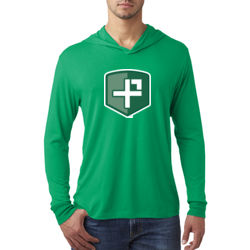 The Positivity Project - Adult Triblend Long-Sleeve Hoody Thumbnail