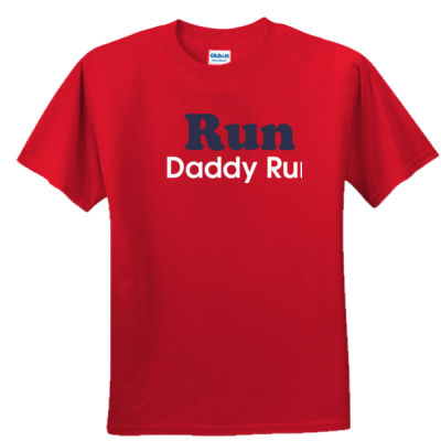 Run Daddy Run - Youth Ultra Cotton™ 100% Cotton T Shirt 2 Thumbnail