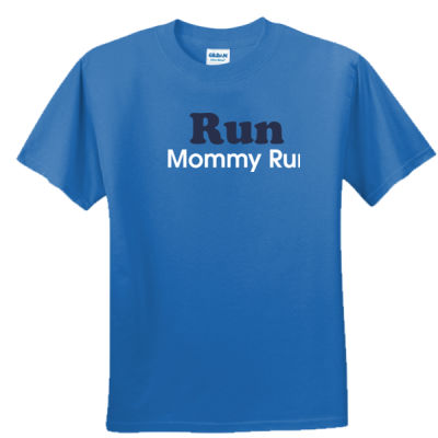 Run Mommy Run - Youth Ultra Cotton™ 100% Cotton T Shirt 2 Thumbnail