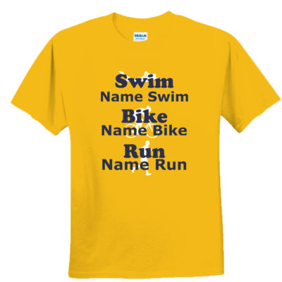 Triathlon Male Support Shirt - Youth Ultra Cotton™ 100% Cotton T Shirt Thumbnail
