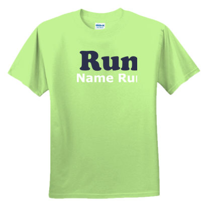 Running Support Shirt - Youth Ultra Cotton™ 100% Cotton T Shirt Thumbnail