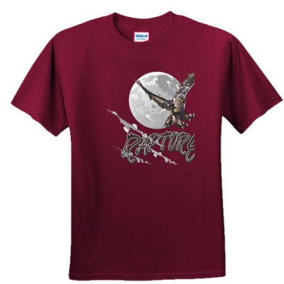 Silver Creek Raptors Moon - Unisex or Youth Ultra Cotton™ 100% Cotton T Shirt Thumbnail