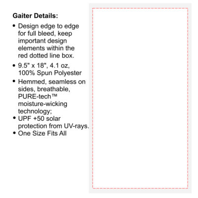 Create Your Own Custom - Multi-Purpose UV Gaiter Thumbnail