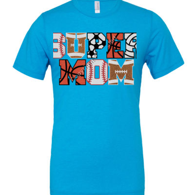 Super Mom - Cotton/Polyester T-Shirt Thumbnail