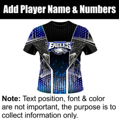 Eagles Sublimated Team Jersey Thumbnail