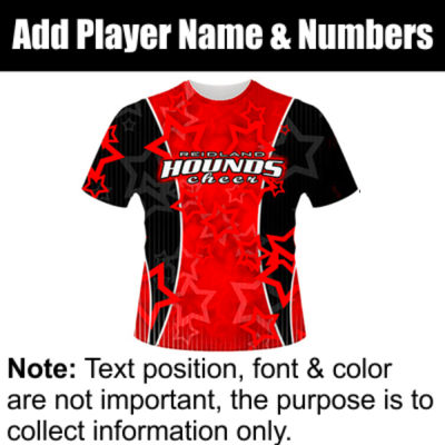 Hounds Sublimated Team Jersey Thumbnail
