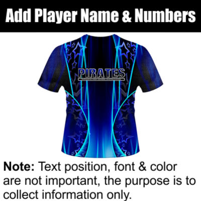 Pirates Sublimated Team Jersey Thumbnail