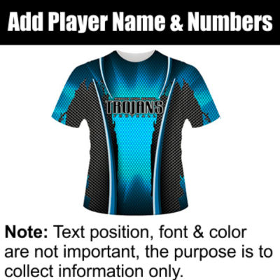Crush Sublimated Team Jersey 9 Thumbnail