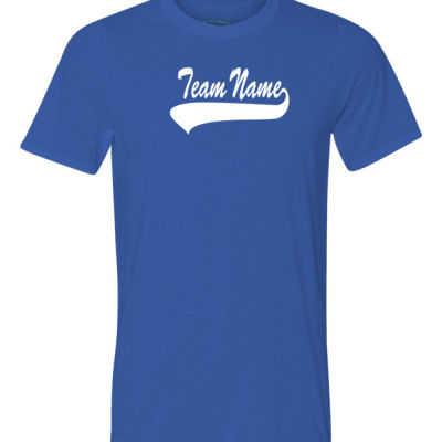 Custom Team Unisex T-shirt with Name & Number - 100% Performance Tee from Gildan Thumbnail