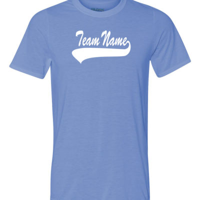 Custom Team Unisex T-shirt with Number Only - 100% Performance Tee from Gildan Thumbnail