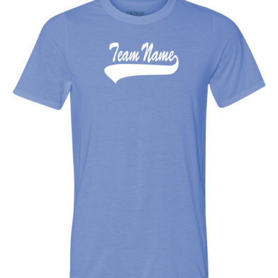 Custom Team Youth T-shirt with Number Only - 100% Performance Tee from Gildan Thumbnail