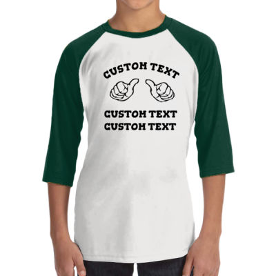 Custom Thumbs  - ALO 100% Performance Youth Baseball T-Shirt Thumbnail