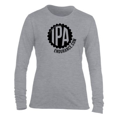 IPA Endurance - Light Ladies Long Sleeve Ultra Performance 100% Performance T Shirt Thumbnail