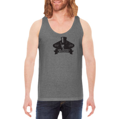 Mister Money Mustache - Unisex American Apparel Triblend Tank Thumbnail