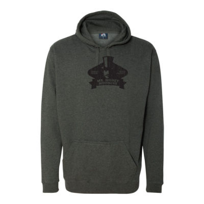 Mister Money Mustache - Tailgate Hoodie with Koozie & Bottle Opener Thumbnail