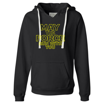 May The Force Run With You - Ladies Ultra Cotton™ 100% Cotton T Shirt Thumbnail
