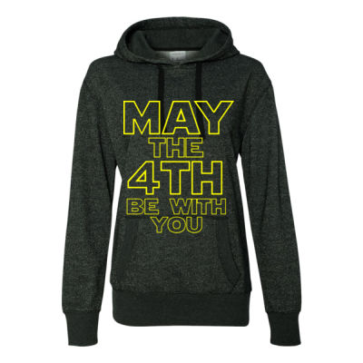 May the 4th Be With You - Glitter Hoodie Thumbnail