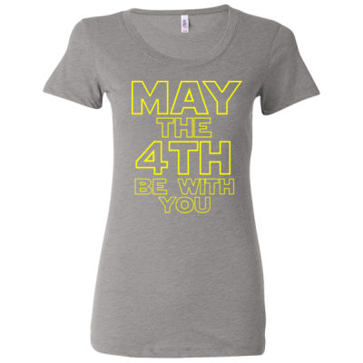 May the 4th Be With You - Ladies' Triblend Short Sleeve T-Shirt Thumbnail