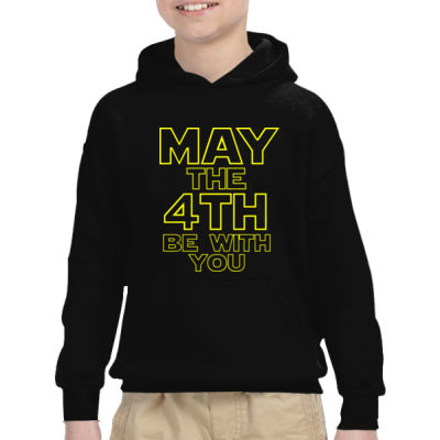 May the 4th Be With You - Heavy Blend™ Youth 8 oz., 50/50 Hood Thumbnail