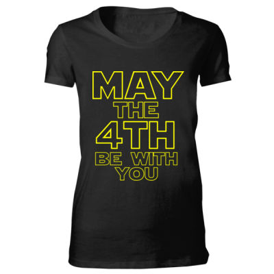 May the 4th Be With You - Bella Favorite T-Shirt Thumbnail