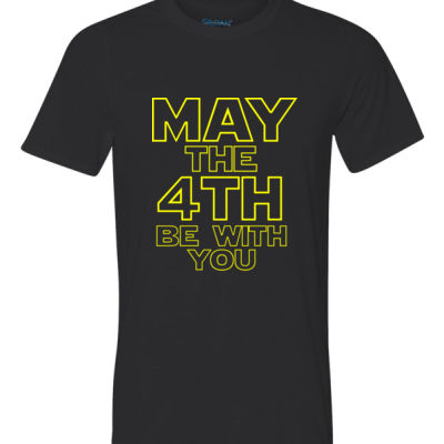 May the 4th Be With You - Ultra Performance Active Lifestyle T Shirt Thumbnail