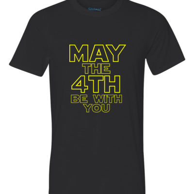 May the 4th Be With You - Youth Ultra Performance Active Lifestyle T Shirt Thumbnail