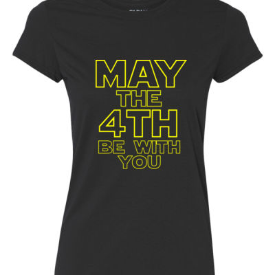 May the 4th Be With You - Ladies Ultra Performance Active Lifestyle T Shirt Thumbnail