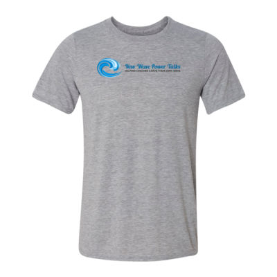 New Wave Power Talks - Light Youth/Adult Ultra Performance Active Lifestyle T Shirt Thumbnail
