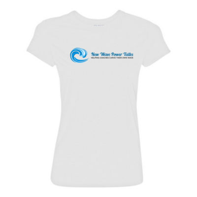 New Wave Power Talks - Light Ladies Ultra Performance Active Lifestyle T Shirt Thumbnail