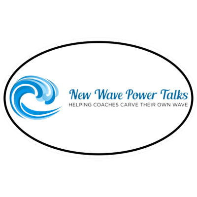 New Wave Power Talks - Oval Euro Decal Thumbnail