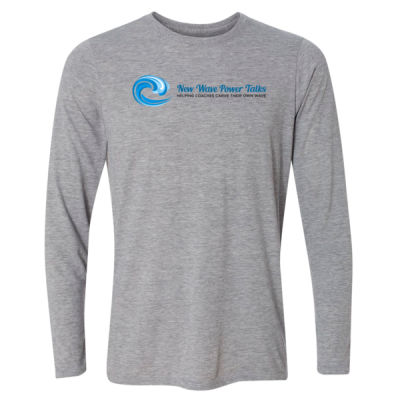 New Wave Power Talks - Light Youth Long Sleeve Ultra Performance Active Lifestyle T Shirt Thumbnail