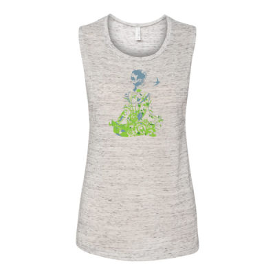 Inner Peace Yoga - Bella Flowy Scoop Muscle Tank (S) Thumbnail